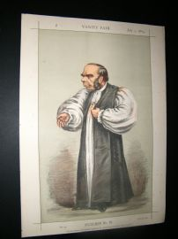 Vanity Fair Print 1869 Bishop of Peterborough